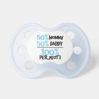 De blauwe Fopspeen van het Baby van 100 Percenten