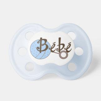De blauwe Fopspeen van het Baby van Bebe van de Ra