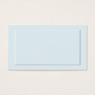 De blauwe Formele Kaarten van de Plaats Visitekaartjes