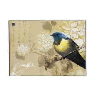 De blauwe Gele Vogel van de Lijster - Chinees het iPad Mini Hoesje