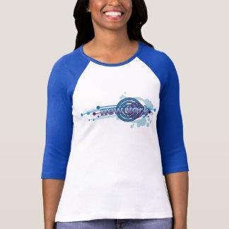 De blauwe Grafische T-shirt Jersey van New York