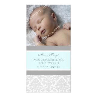 De blauwe Grijze Aankondiging van de Geboorte van  Fotokaart