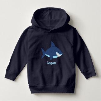 De Blauwe Haai van de pret Hoodie
