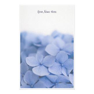 De blauwe Kantoorbehoeften van de Hydrangea horten Briefpapier