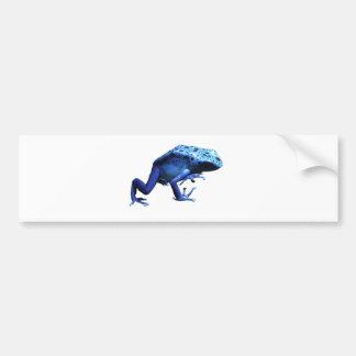 De blauwe Kikker van het Pijltje van het Vergift Bumpersticker