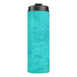 De blauwe Kleur van het Water Thermosbeker