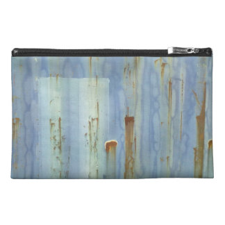 De blauwe Muur van het Metaal Travel Accessoire Tasje