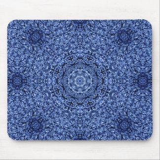 De blauwe Perzische Deken van het Pluizig laken Muismat