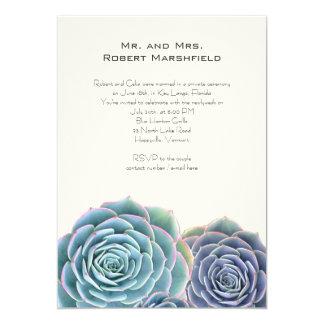 De blauwe Privé Aankondiging van het Huwelijk