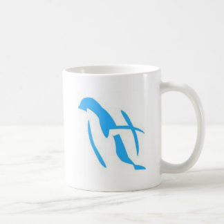 De blauwe Producten van de Pinguïn Koffiemok
