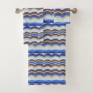 De blauwe Reeks van de Handdoek van de Badkamers