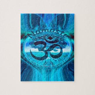 De Blauwe Regenboog van Namaste Puzzel