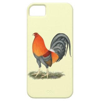 De Blauwe Rode Haan van de kemphaan Barely There iPhone 5 Hoesje
