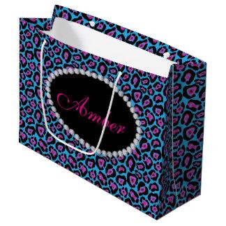 De blauwe & Roze Zak van de Gift van LG van het Groot Cadeauzakje