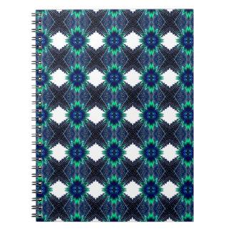 De blauwe Samenvatting van de Bloem Ringband Notitieboek