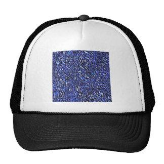 De blauwe Samenvatting van het Glas Trucker Cap