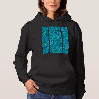 De Blauwe Schalen van Aqua Hoodie