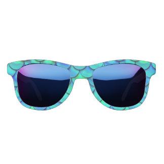 De Blauwe Schalen van Aqua van Falln Zonnebril