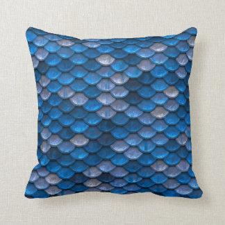 De blauwe Schalen van de Meermin Sierkussen