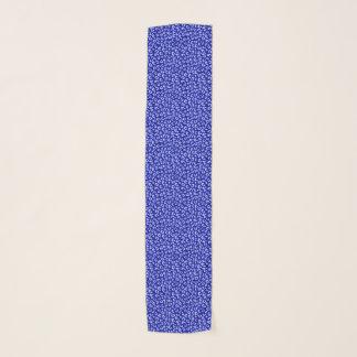 De blauwe Sjaal van het Patroon van de Luipaard