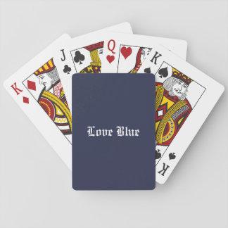 De Blauwe Speelkaarten van de liefde