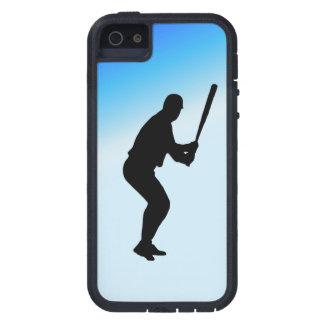 De Blauwe Sporten van het Beslag van het honkbal Tough Xtreme iPhone 5 Hoesje