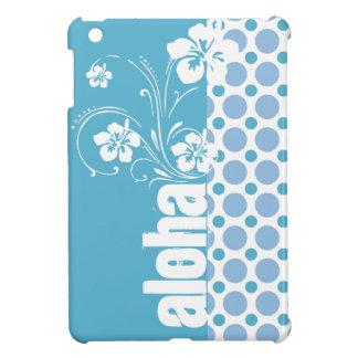 De Blauwe Stippen van het baby; Aloha Hoesje Voor iPad Mini