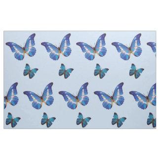 De blauwe Stof van Vlinders Morpho