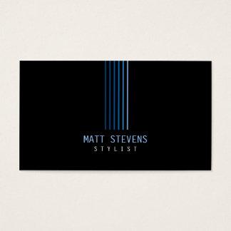 De Blauwe Stralen van het Visitekaartje van de Visitekaartjes