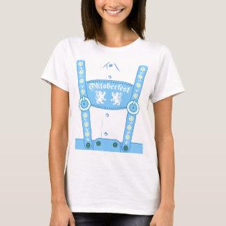 De Blauwe T-shirt Lederhosen van Oktoberfest