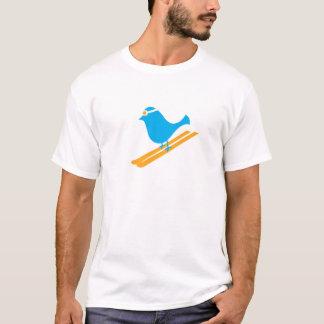De blauwe T-shirt van de Dag van de Vogel