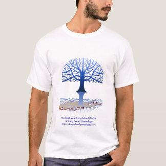 De Blauwe T-shirt van de Genealogie van Long