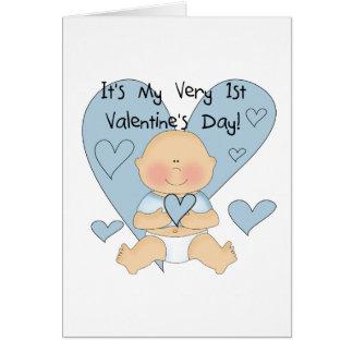 De blauwe T-shirts en de Giften van Valentijn van Kaart