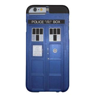 De blauwe Telefooncel van de Politie (Foto) Barely There iPhone 6 Hoesje
