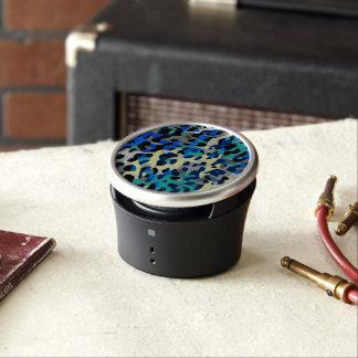 De blauwe Turkooise Zwarte Samenvatting van de Bluetooth Luidspreker