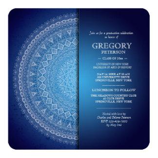 De Blauwe Uitnodiging Mandala van de middernacht