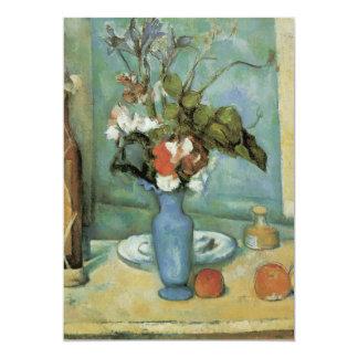 De blauwe Vaas (akaBloemen en Fruit) door Cezanne Persoonlijke Aankondigingen