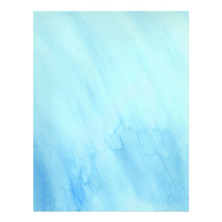 De blauwe Verf van de Waterverf van de Stormvloed Folder