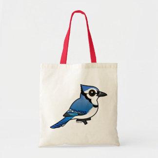 De Blauwe Vlaamse gaai van Birdorable Draagtas