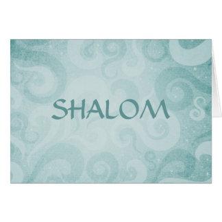 De Blauwe Wervelingen van Shalom Kaart