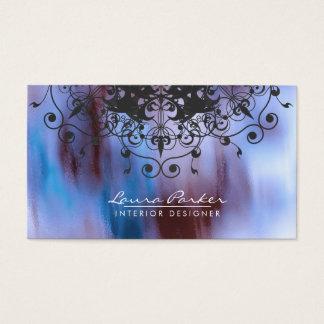 De blauwe Wijnoogst van de Kunstenaar van de Visitekaartjes