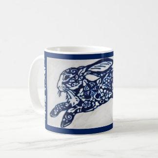 De blauwe & Witte Oosterse Mok van de Koffie van