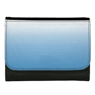 De blauwe Witte Portefeuille van de Kleur van de
