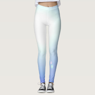 De blauwe Witte Yoga van de Sporten van de