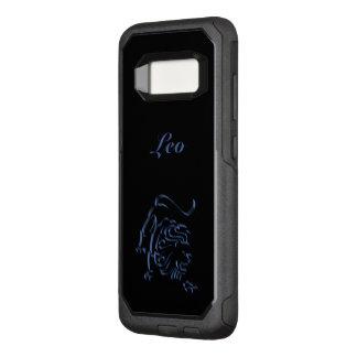 De Blauwe Zwarte van het Staal van de Leeuw van OtterBox Commuter Samsung Galaxy S8 Hoesje