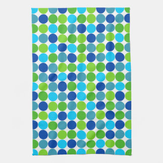 De blauwgroene Handdoek van de Keuken van de Stip