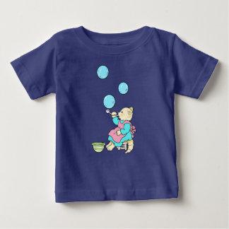 De Blazende Bellen van de kat van Buis - Cartoons Baby T Shirts