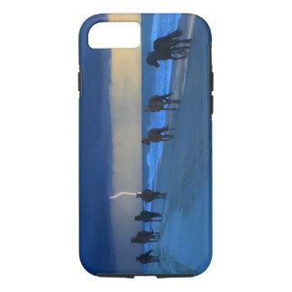 De Bliksem IPhone 7 van de Wild paarden van de iPhone 8/7 Hoesje
