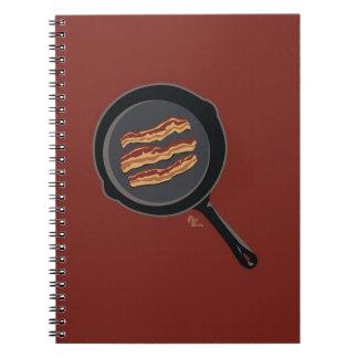 De Blocnote van het bacon Ringband Notitieboek