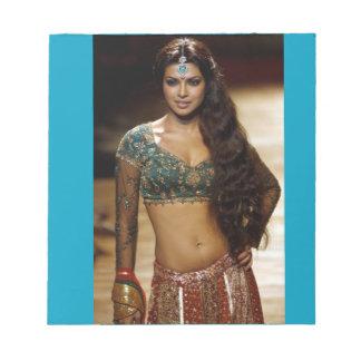 De blocnote van Priyanka Chopra